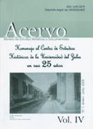 Acervo. Revista de Estudios Históricos y Documentales