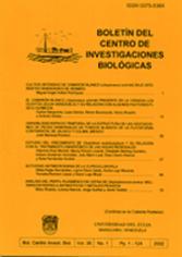Boletín del Centro de Investigaciones Biológicas