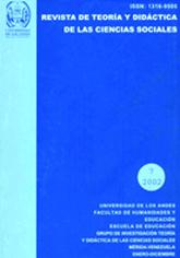 Revista de Teoría y Didáctica de las Ciencias Sociales