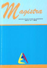 Magistra - Revista de la Escuela Nacional de la Magistratura