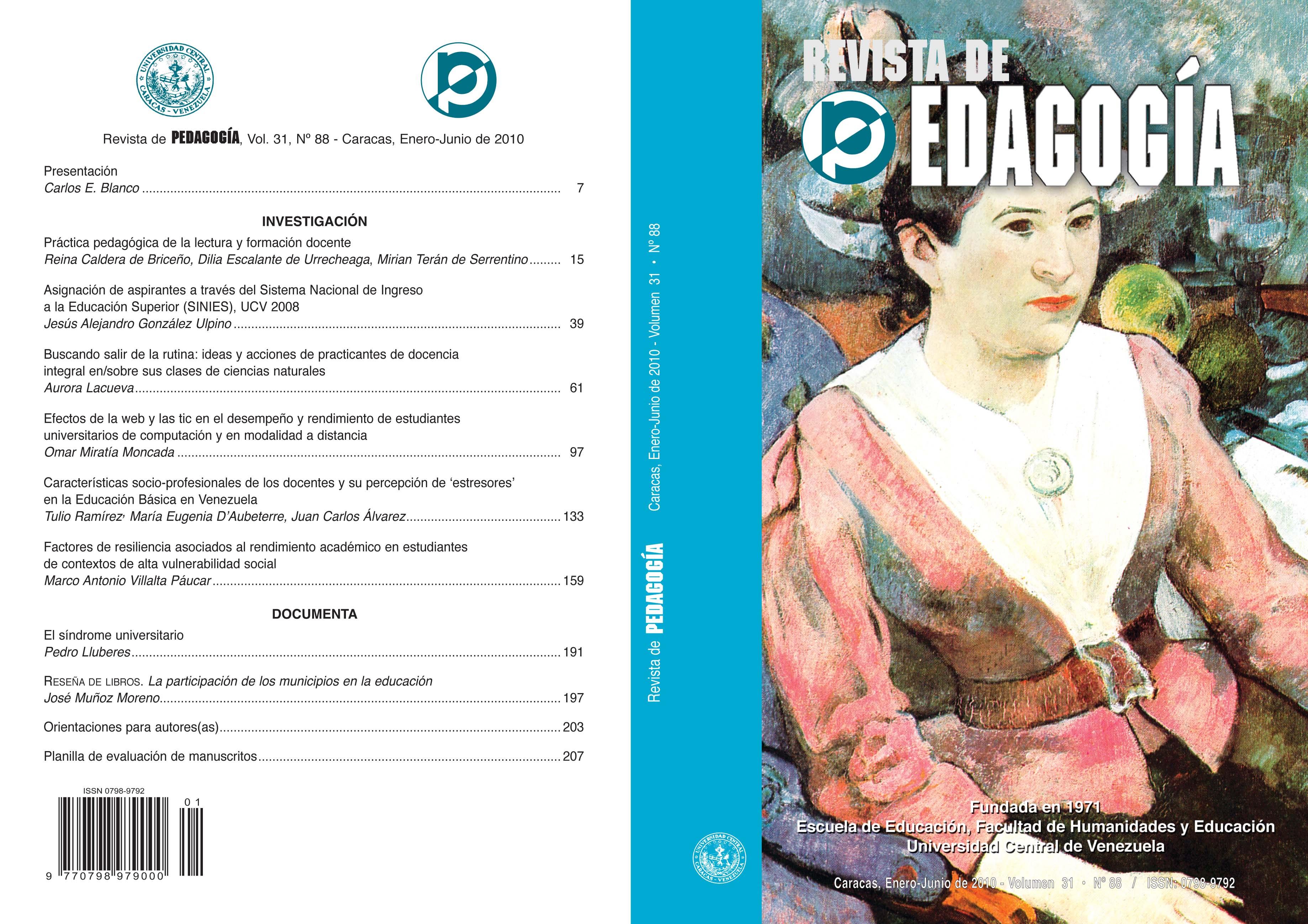 Revista de Pedagogía