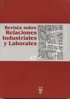 Revista sobre Relaciones Industriales y Laborales